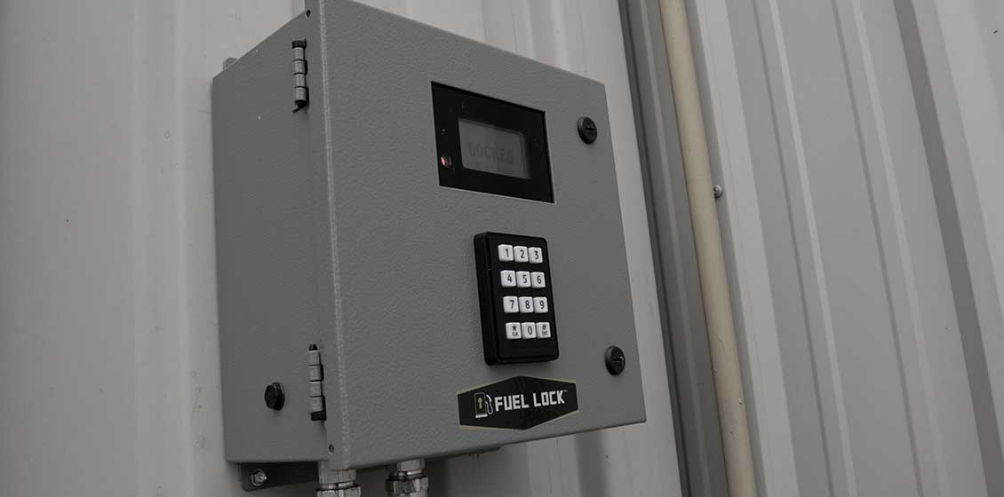 IntraGrain Fuel Lock™ - Control Panel